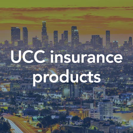 UCC insurance products